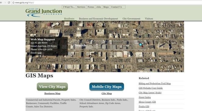 GIS site