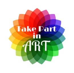 Take Part in Art Logo