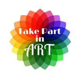 Take Part in Art Logo