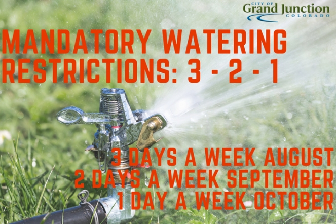 mandatory watering restrictions