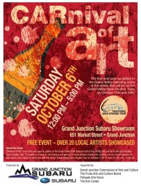Carnival of Art Flyer