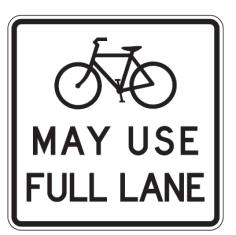 Full Bike Lane