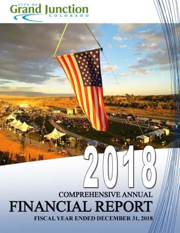 2018 CAFR Cover