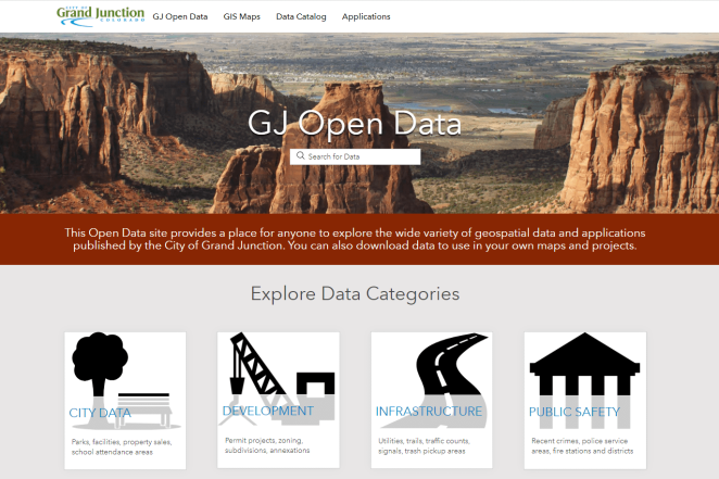 GIS Open Data Portal_image